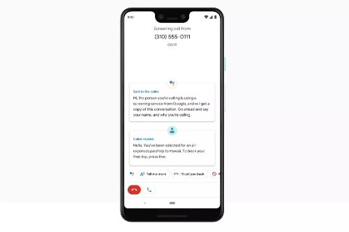 Google's call screening transcriptions start rolling out to Pixel owners