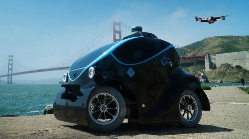 Police in Dubai have recruited a self-driving robo-car that can 'scan for undesirables'