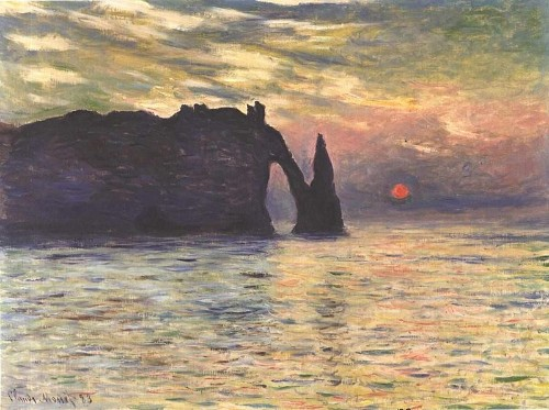 Astronomers say Monet's 'Sunset' masterpiece was painted at 4:53PM on February 5th, 1883