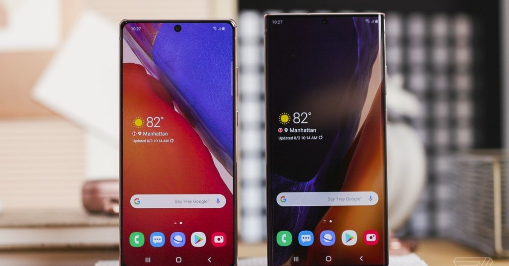 The Galaxy Note 20 Ultra is Samsung's new spec king