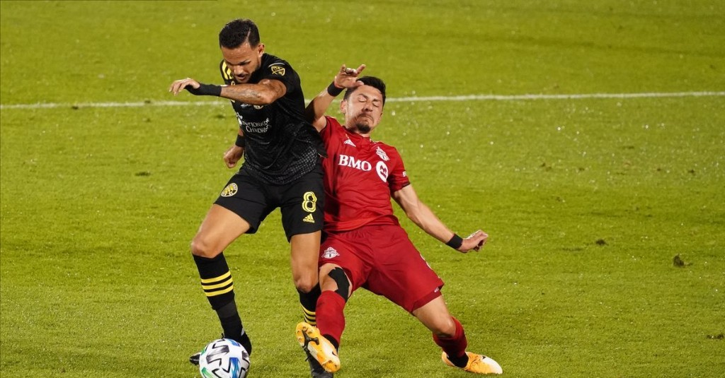 Crew falls on the road to Toronto FC in disappointing performance