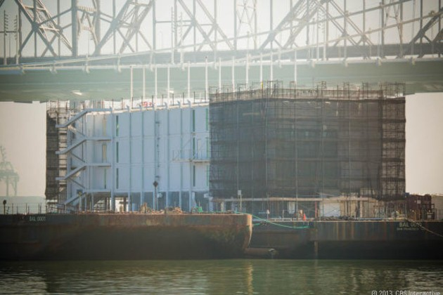 Mystery barge in Maine rumored to be another Google project