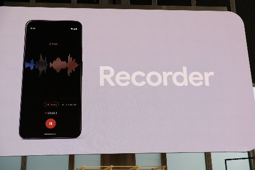 Pixel 4 Recorder app can transcribe speech in real time without an internet connection