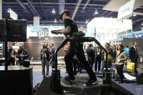 The Virtuix Omni gaming treadmill is finally a finished product