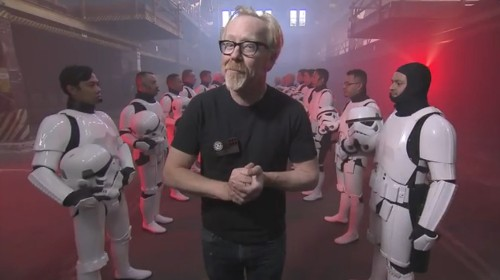'MythBusters' to test plausibility of famous 'Star Wars' scenes in January 4th special