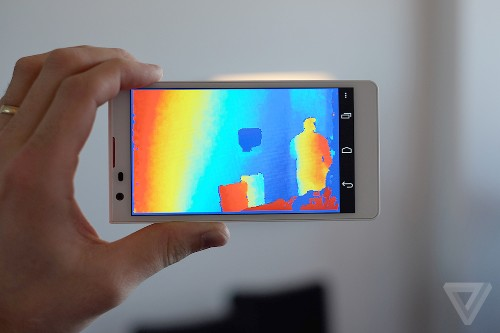 See how Google's new 'Project Tango' smartphones sense the world