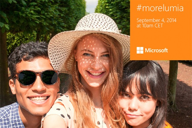 Microsoft teases its Lumia 730 'selfie phone' with a selfie
