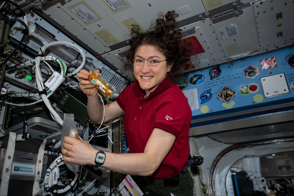 Record-breaking astronaut Christina Koch on making space history and surviving lengthy isolation