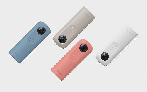 Ricoh announces a smaller, cheaper 360-degree camera