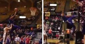Everyone can't stop talking about this dirty high school basketball foul