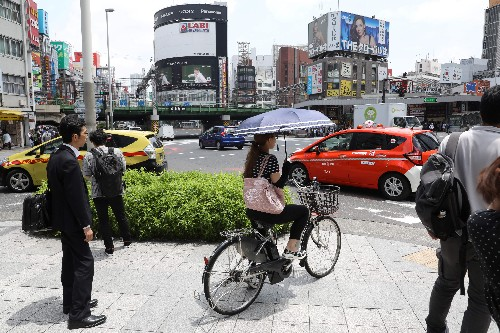 People in Japan are renting cars but not driving them
