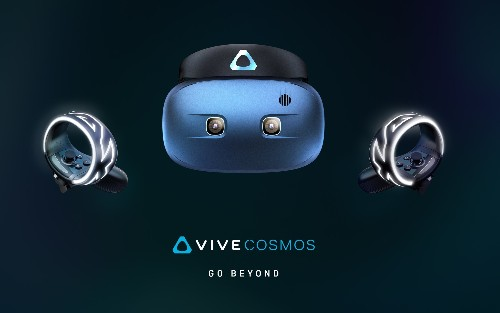 HTC announces a PC-powered VR headset called the Vive Cosmos