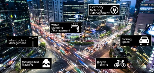 Samsung's building the first national network dedicated to smart cities