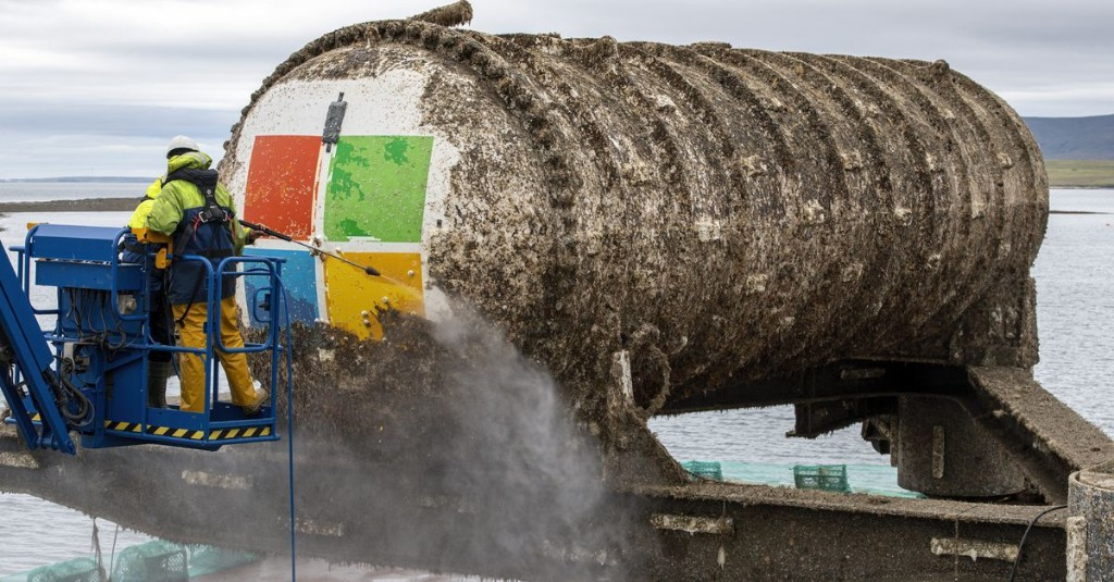 Microsoft's underwater server experiment resurfaces after two years