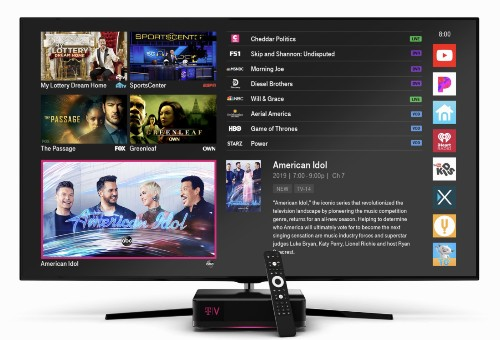 T-Mobile relaunches Layer3 TV service as TVision Home