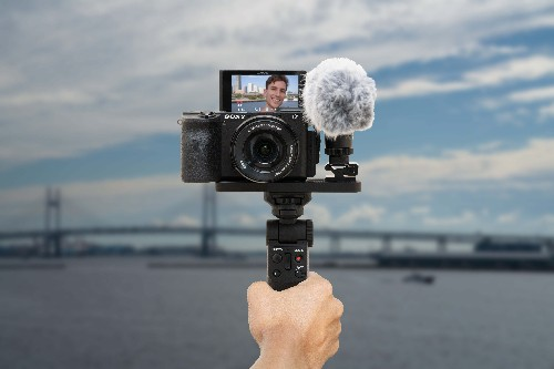 Sony launches new wireless camera grip to make it easier to vlog