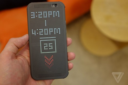 See the many faces of the HTC One's Dot View case