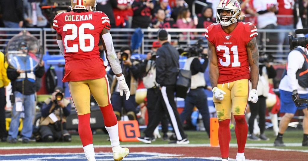 Golden Nuggets: Where do you rank the 49ers' running back tandem of Mostert and Coleman?