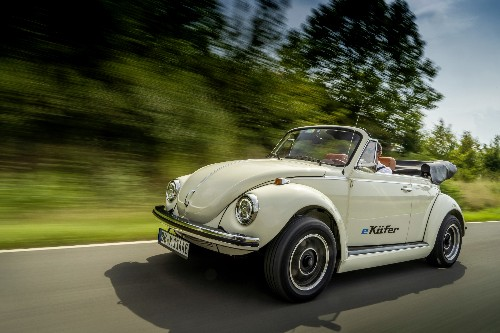 Volkswagen will help turn old Beetles and microbuses electric