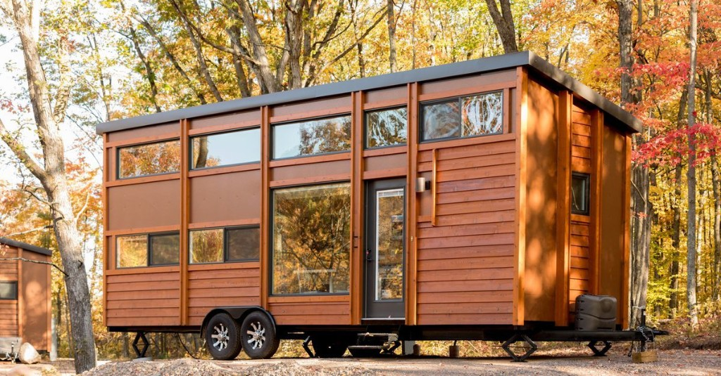 Scenic tiny house village opens in the Midwest