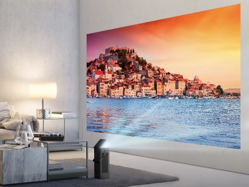 LG's first 4K projector can beam a 150-inch picture onto your wall