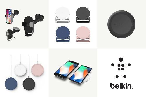 Belkin's latest chargers look tailor-made for the iPhone X
