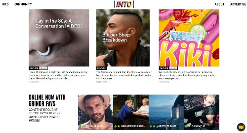 Grindr just launched an online magazine