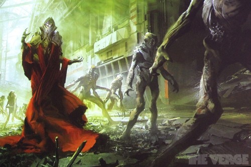 Bungie melds fantasy, Tarkovsky, and space wizards in 'Destiny' concept art
