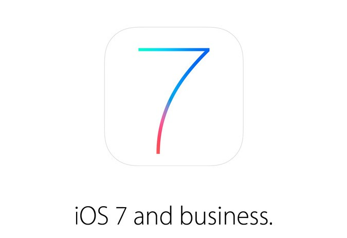 Apple targets big business with new iOS 7 features