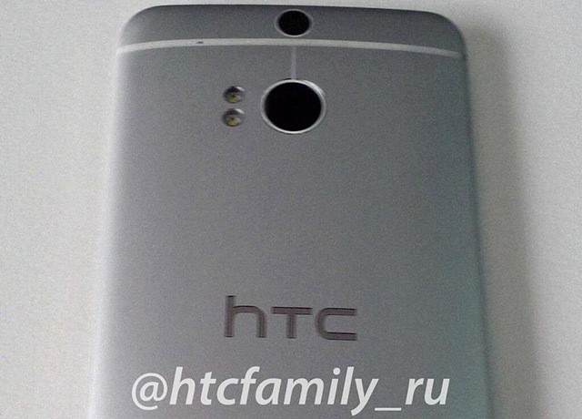 HTC One successor pictured with a dual camera and same old design