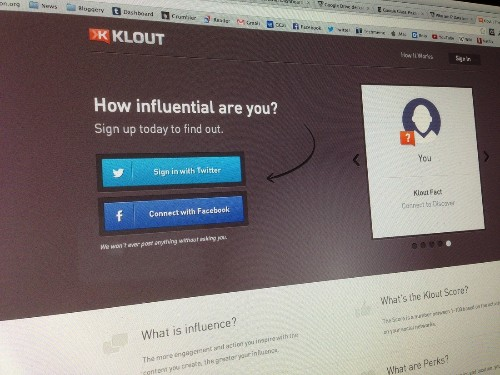Klout, controversial service that measured online 'influence,' reportedly being acquired for $100 million