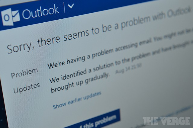 Microsoft recovering from seven-hour long Outlook.com outage