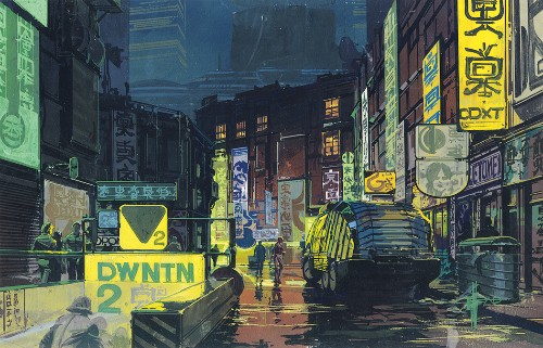 Inside Syd Mead's visions of the future, from Blade Runner to Tron