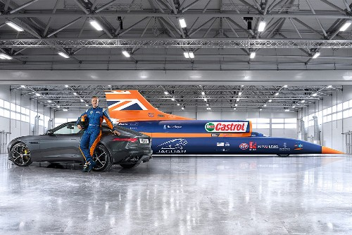 Jaguar joins the Bloodhound gang planning to break the land speed record