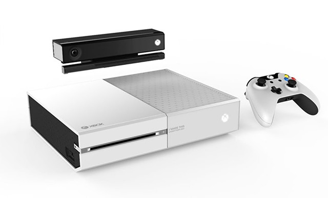 Microsoft creates white Xbox One for employees