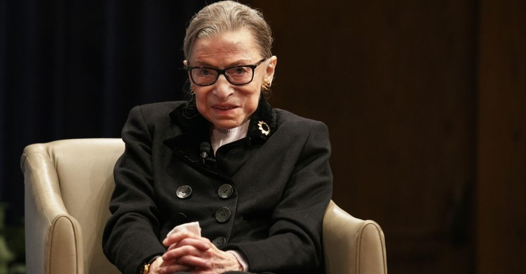 Justice Ruth Bader Ginsburg has died. Here are the reactions