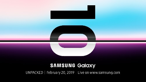 Samsung Galaxy S10: all the news and rumors about the Unpacked event