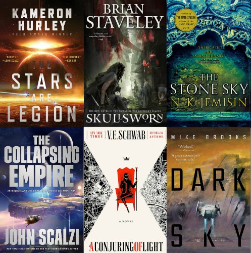 33 science fiction and fantasy books that everyone will be talking about in 2017