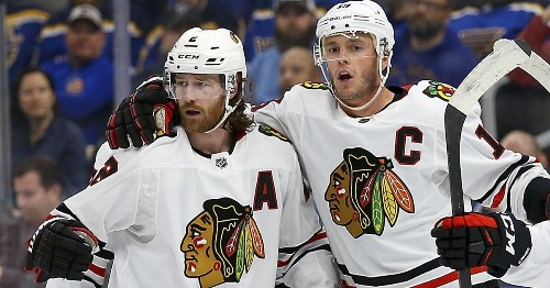 As young core develops, Blackhawks still count on crew that won Stanley Cups