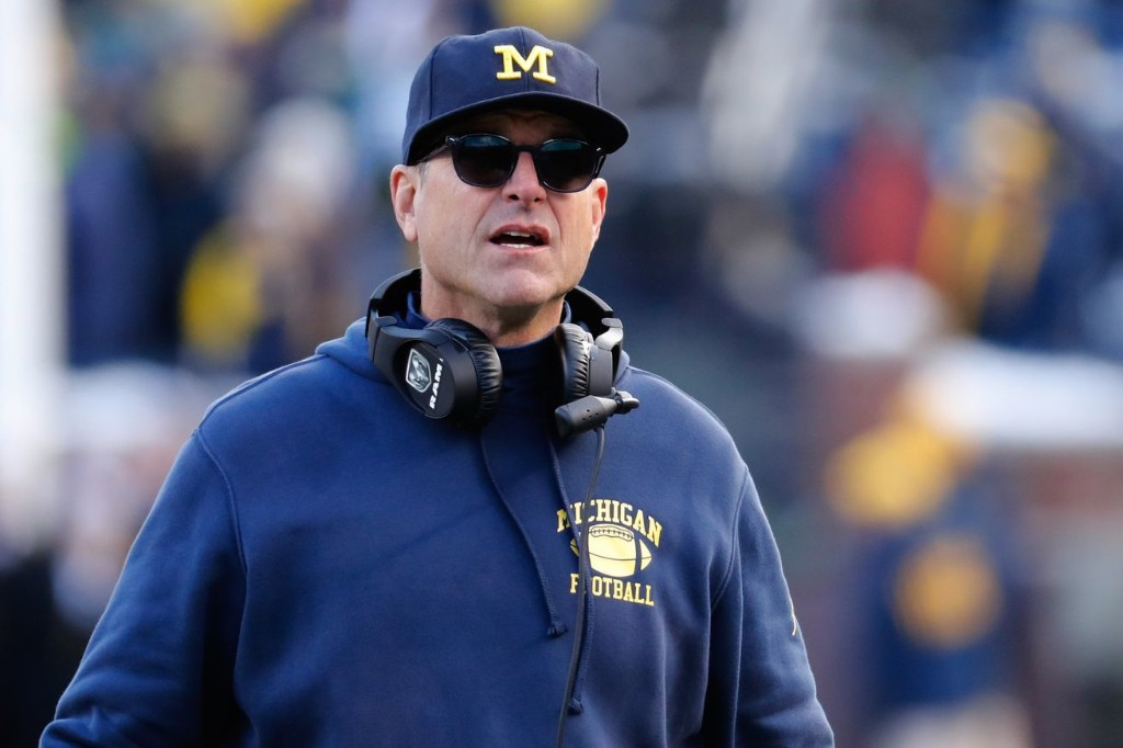 Former five-star says Michigan recruitment was 'over' when Jim Harbaugh wore cleats in house