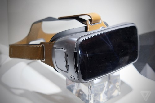 Here's an Asus VR headset with fancy leather straps