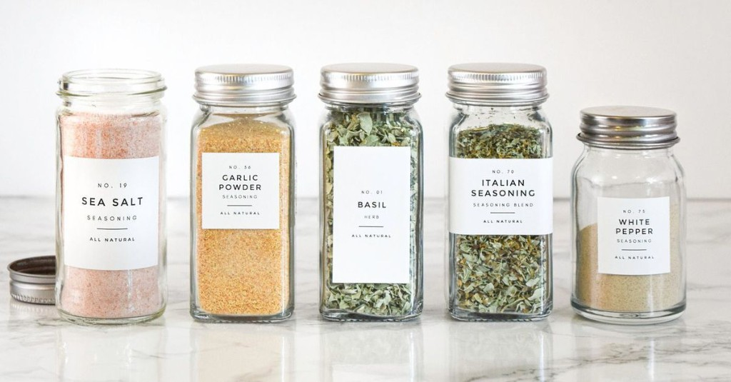 These TikTok-Famous Pantry Labels Are the Best Way to Organize Your Spice Rack