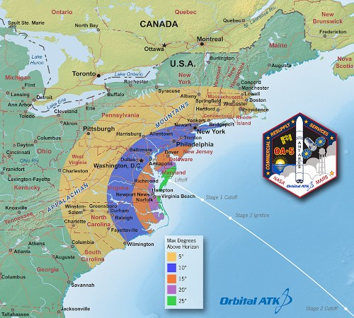 Tonight, watch Orbital ATK's Antares rocket launch for the first time in two years