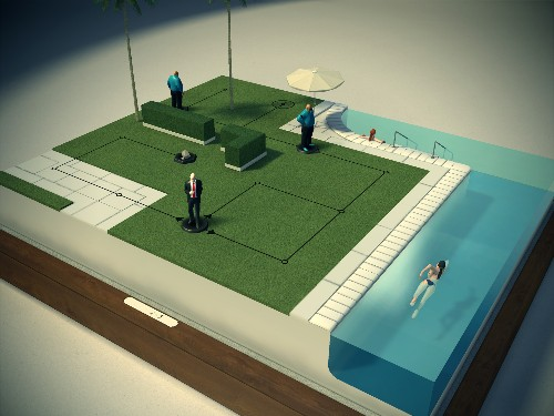 'Hitman Go' turns cold-blooded murder into an iPad board game