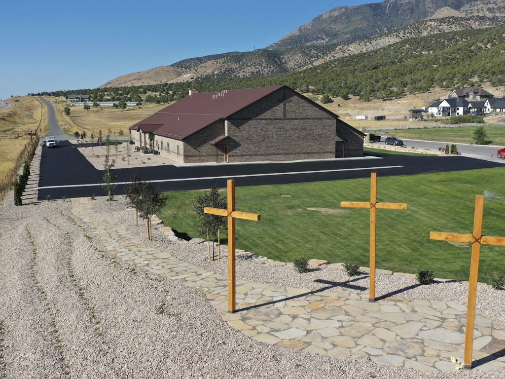 What Nephi's First Baptist Church hopes I-15 travelers will see and feel when driving by