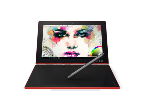 Lenovo's Yoga Book now comes in new red and white colors