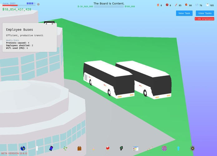 The Founder is a surreal startup simulator that strikes at the heart of Silicon Valley