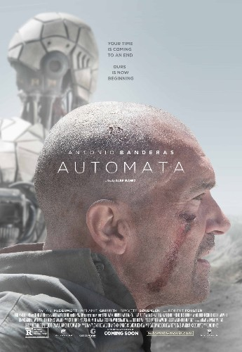 Robots kidnap a human in the first trailer for dark sci-fi film 'Automata'