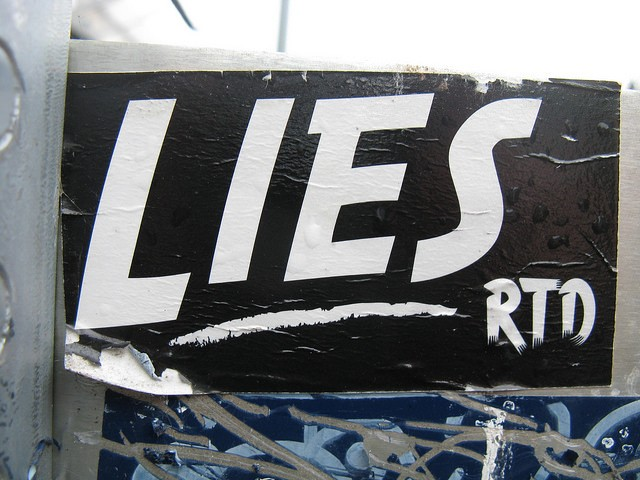 Your brain gets used to lying as you do it more
