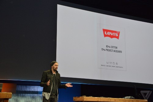 Levi's wants to put Google's touch-sensitive fabric inside your jeans